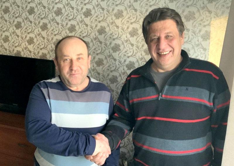 Николай Козлов и Иосиф Бурко