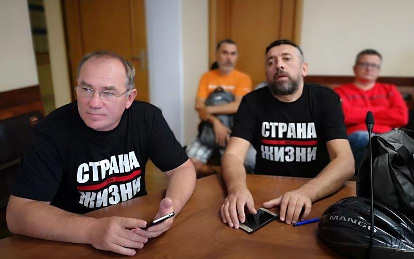 Политзаключенные Александр Кабанов и Сергей Петрухин